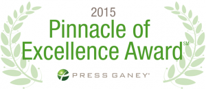 Signature Medicine winner of Press Ganey Beacon of Excellence Award 2015